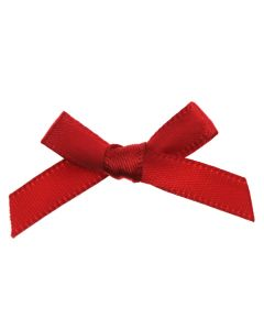 Red Ribbon Bows 7mm