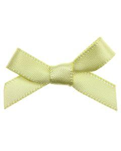 Lemon Ribbon Bows 7mm