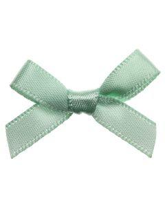 Mint Ribbon Bows 7mm