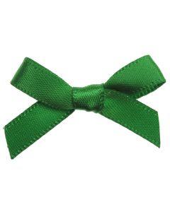 Emerald Ribbon Bows 7mm