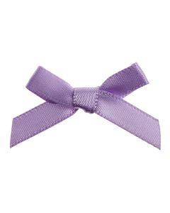 Lilac Ribbon Bows 7mm