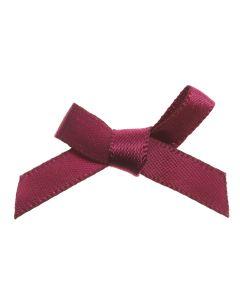 Wine Ribbon Bows 7mm