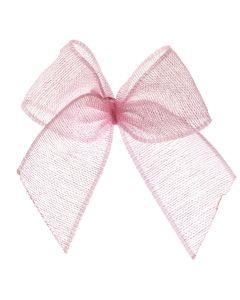 Pink Organza Ribbon Bow