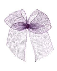 Lilac Organza Ribbon Bow