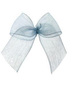 Sky Blue Organza Ribbon Bow