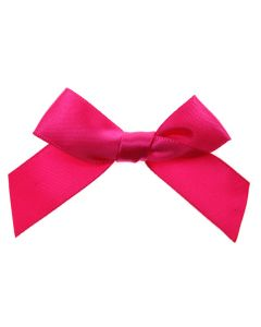 Cerise Ribbon Bows 15mm