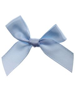 Pale Blue Ribbon Bows 15mm