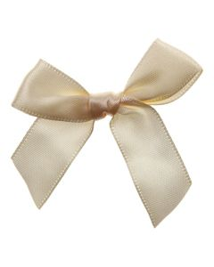 Cream Ribbon Bows 15mm