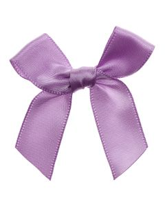 Lilac Ribbon Bows 15mm