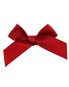 Red Ribbon Bows 15mm