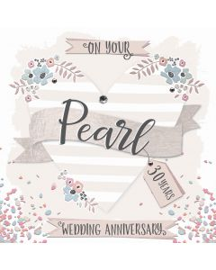 On your Pearl Anniversary, 30 Years