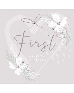 Happy First wedding anniversary