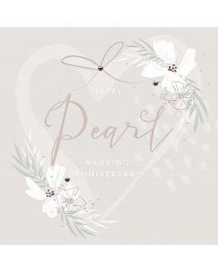 Happy Pearl wedding anniversary