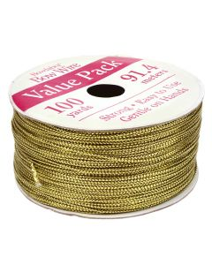 Bowdabra Bow Wire 91.4m Roll - Gold