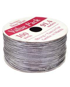 Bowdabra Bow Wire 91.4m Roll - Silver