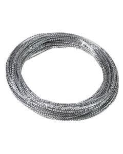 Bowdabra Bow Wire 15.2m Roll - Silver