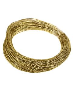 Bowdabra Bow Wire 15.2m Roll - Gold