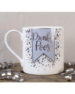 Drinky Poos Bone China Mug