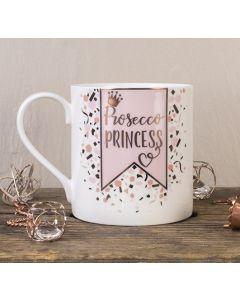 Prosecco Princess Bone China Mug