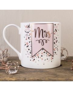 Mrs Bone China Mug