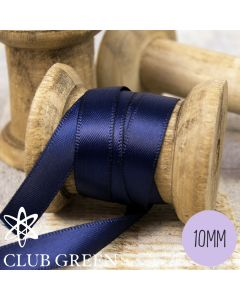 Club Green 6mm Double Faced Satin Ribbon
