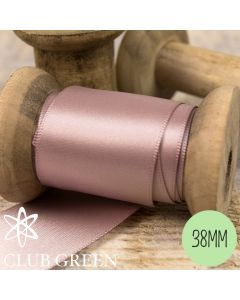 Club Green 38mm Double Faced Satin Ribbon