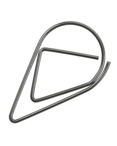 Silver Teardrop Wedding Invitation Paperclips - Pack of 100