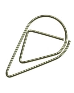 Gold Teardrop Wedding Invitation Paperclips - Pack of 100