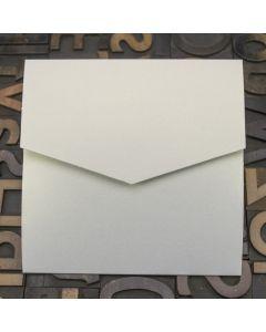 Enfolio Pocketfold (Lg Sq) - Crystal White