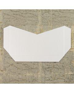 Enfolio Tentfold (Lg Sq) Add On Pocket - Crystal White