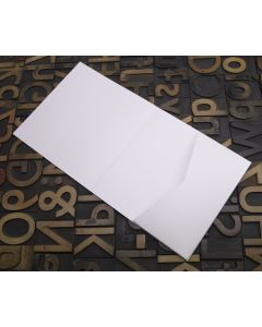 Enfolio Tentfold (Lg Sq) and Add On Pockets - Crystal White