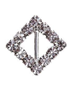'Diamond Square' Diamante Buckle (Midi)