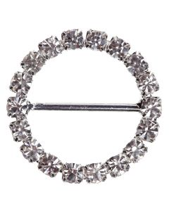 Circle Diamante Buckle (Large)