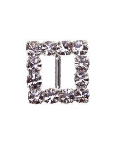 Square Diamante Buckle (Mini)