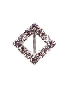 'Diamond Square' Diamante Buckle (Mini)
