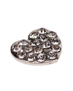 Stardust Heart Mini Embellishment
