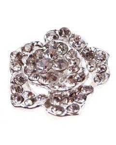 Rosemoor - a diamante rose embellishment