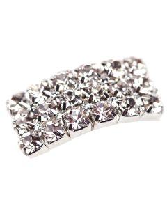 Arc Diamante Buckle Small - Top View