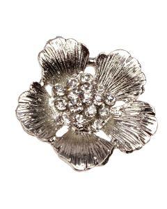Flora - Diamante Flower Embellishment
