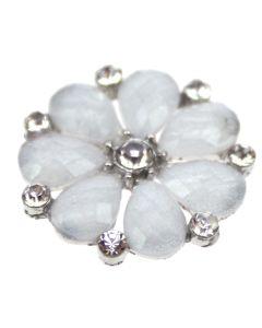 Trionum Diamante Floral Gem Embellishment