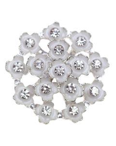 Fleur Pétale Diamante Embellishment