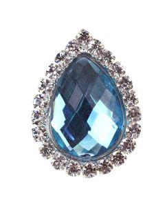 Sancy (Turquoise) Diamante Gem Embellishment