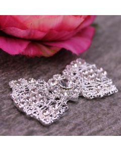 Vintage Bow (Bright) Diamante Embellishment