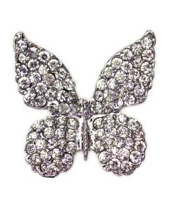 Fritillary Diamante Butterfly Embellishment