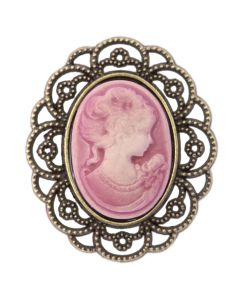 Antique Cameo (Dusky Pink)