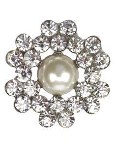 Buren Diamante and Pearl Embellishment