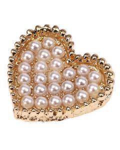 Gold Oribella Pearl Embellishment