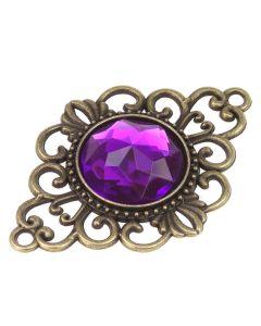 Duvessa Purple Embellishment