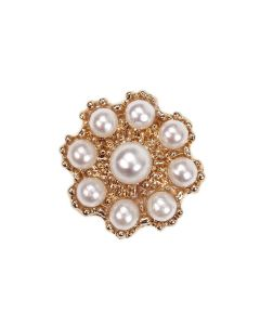Gold Bronte Pearl Embellishment