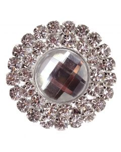 Diamante Gem Circle - Duo Embellishment